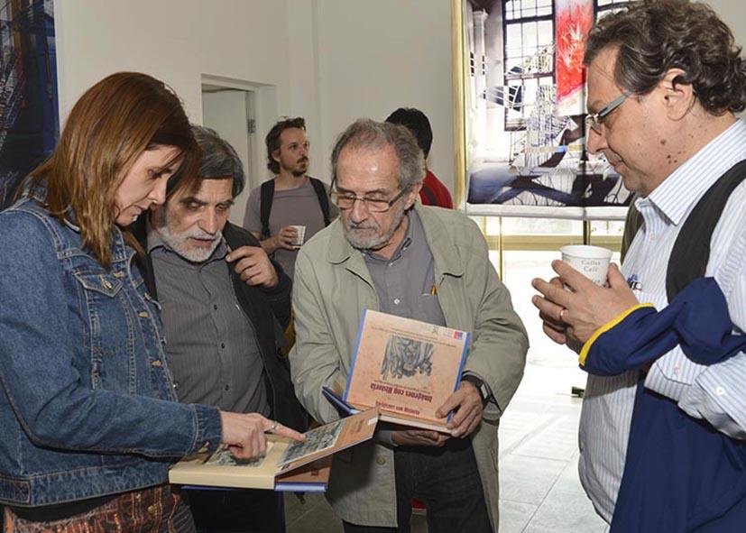 Laura, Jorge, Oscar y Moisés