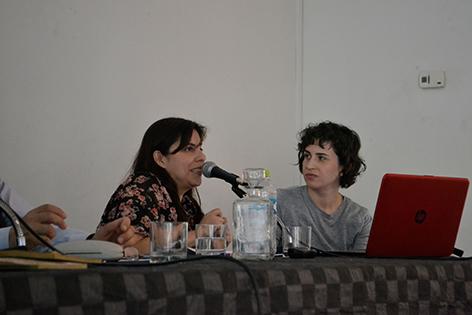 Victoria Rubio e Isabel Molina