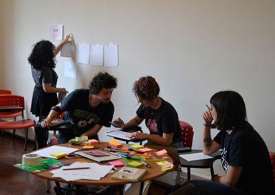 Taller de dibujo ciber feminista, por Constanza Figueroa