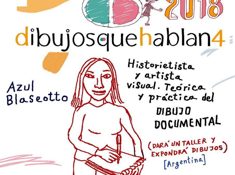 Azul Blaseotto (Argentina): historietista, docente y artista visual