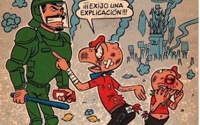 Protestando con humor, por Jorge Montealegre