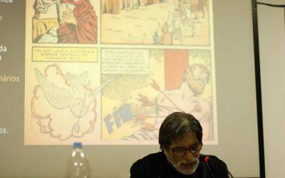 "Expertos dibujo-hablantes participan en congreso ""Historias em Quadrinhos 2018"" de Sao Paulo"