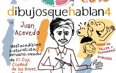 Juan Acevedo (Perú). Historietista y Dibujante.