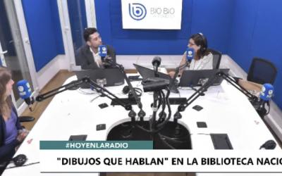 Mara Burkart y Claudio Aguilera, entrevista en Biobio Tv