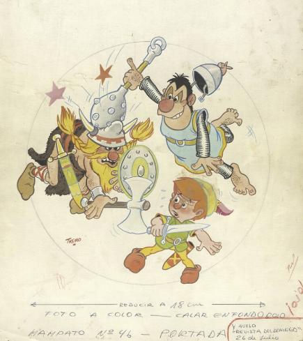"""Nueva colección """"Historietas e Ilustración"""" del Archivo de Láminas y Estampas se incorpora a Biblioteca Nacional Digital"""